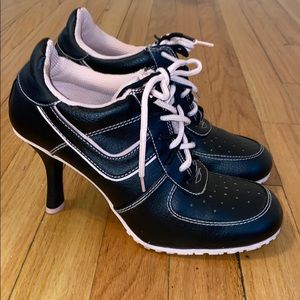 High heel gym shoes
